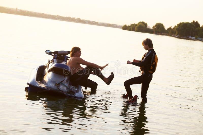 Scooter de mer photos libres de droits