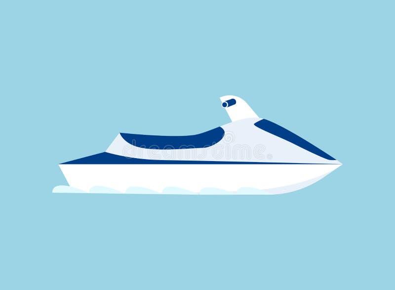 Scooter de mer Vecteur illustration de vecteur