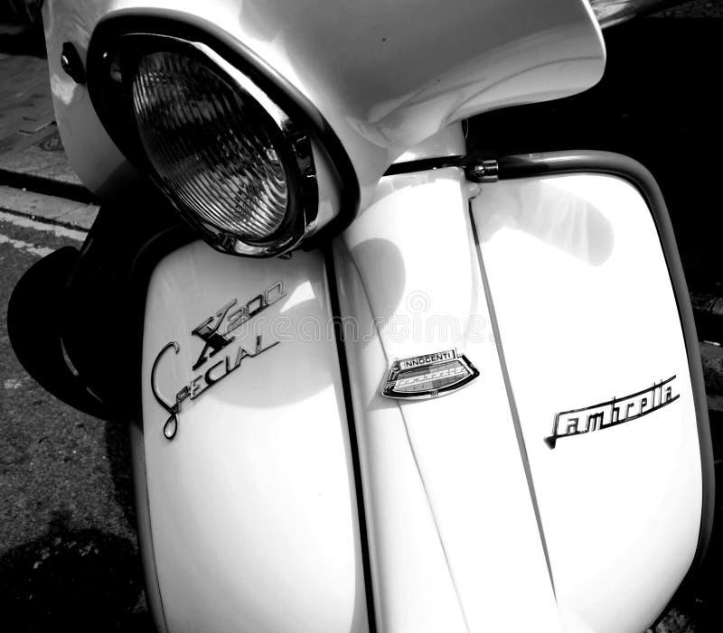 Scooter Innocenti de Lambretta image stock