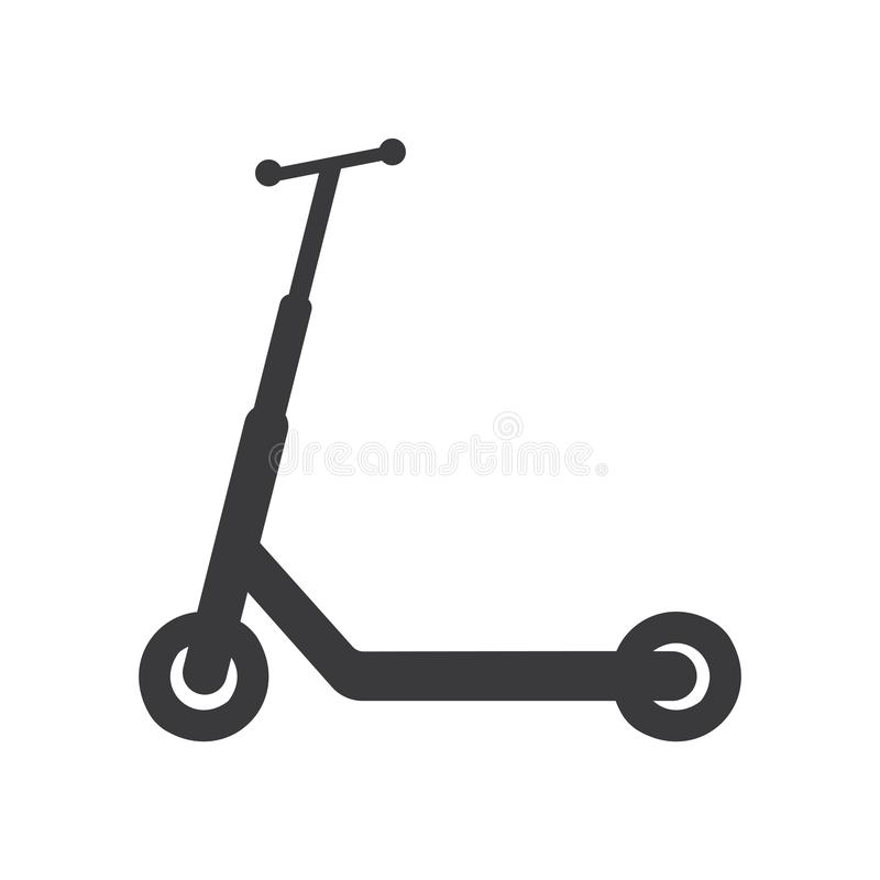 scooter stock illustratie
