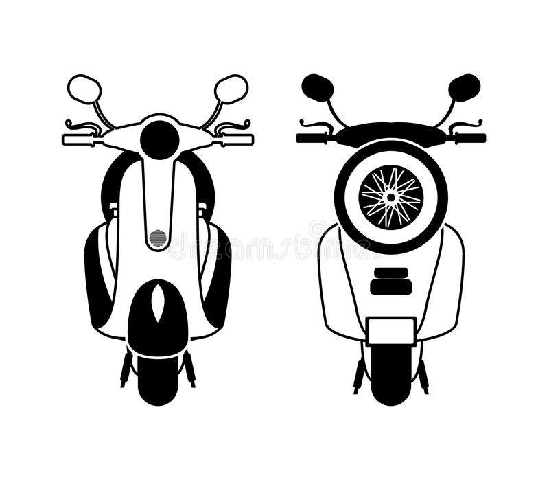 Scooter style design. Vector illustration eps10 graphic stock illustration