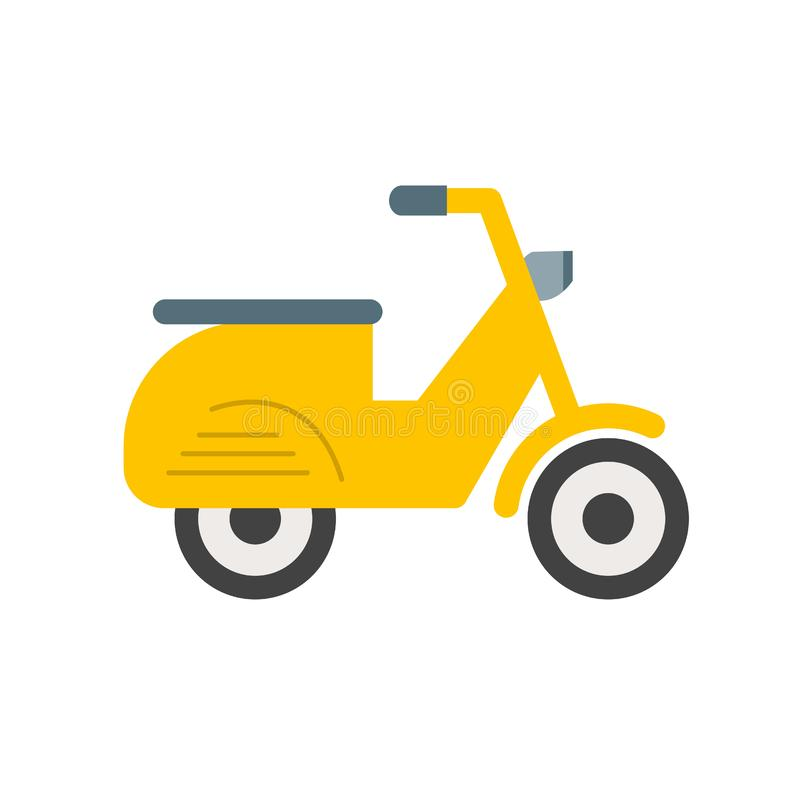 Scooter. Vespa, speed icon image. Can also be used for vehicles. Suitable for mobile apps, web apps and print media vector illustration
