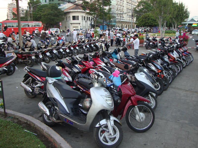 Scooters stock images