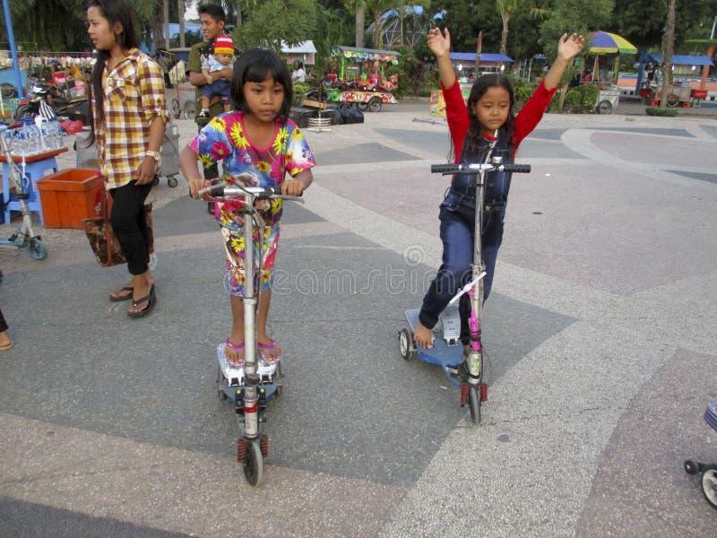 scooters stockfoto