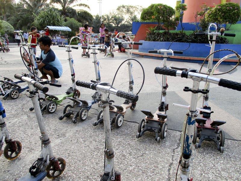 scooters images libres de droits