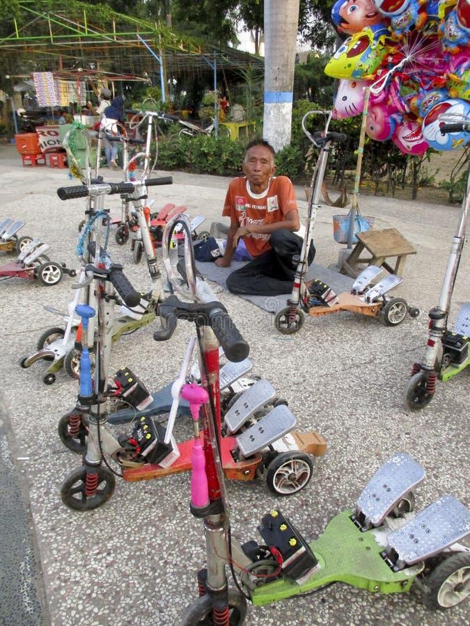 scooters photographie stock libre de droits