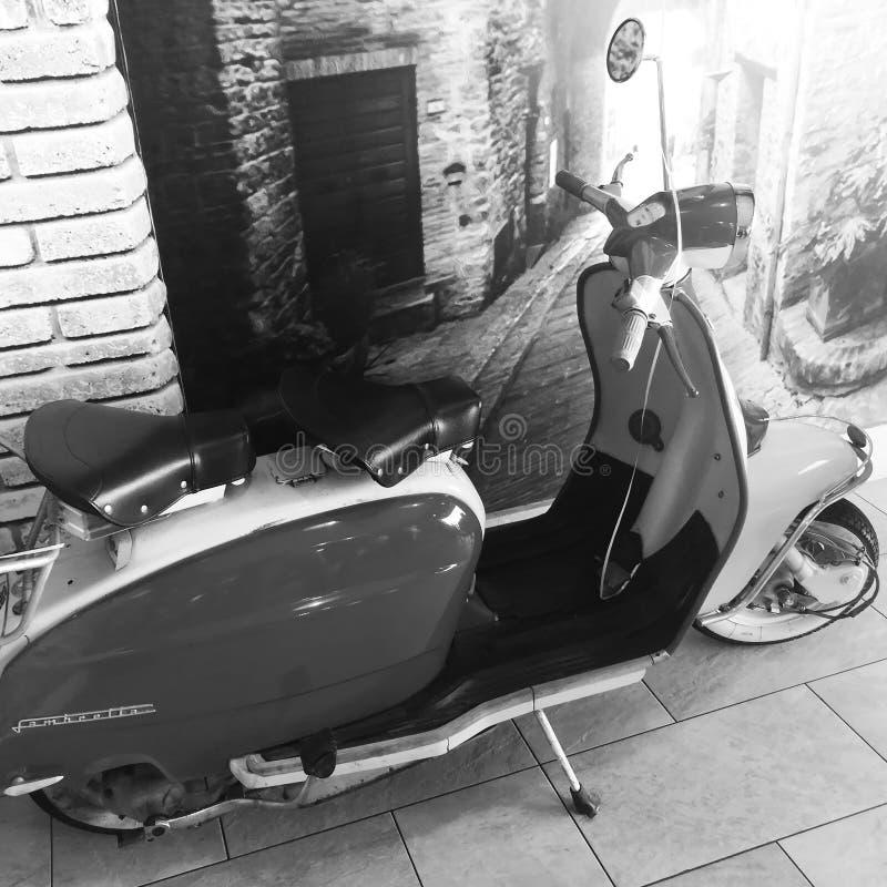 Scooters de Lambretta photographie stock