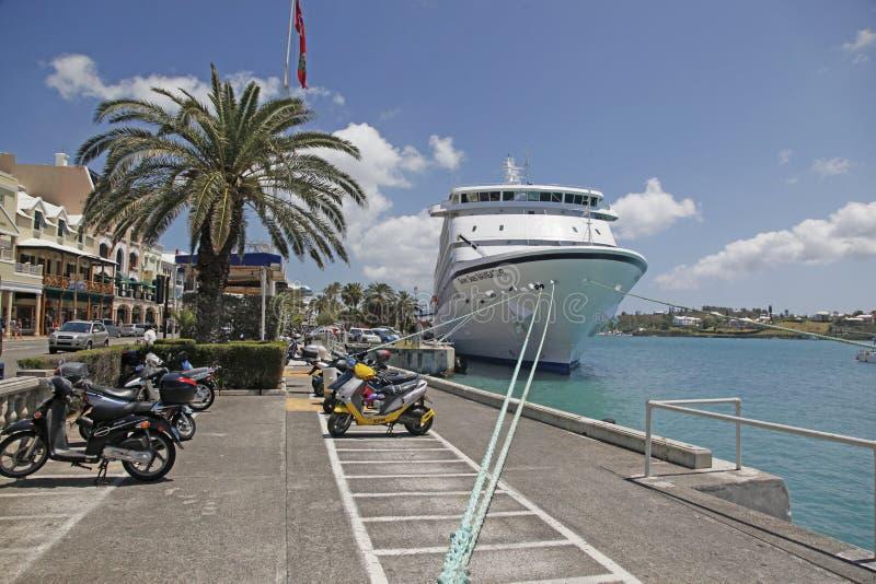 Scooters des Bermudes photo libre de droits