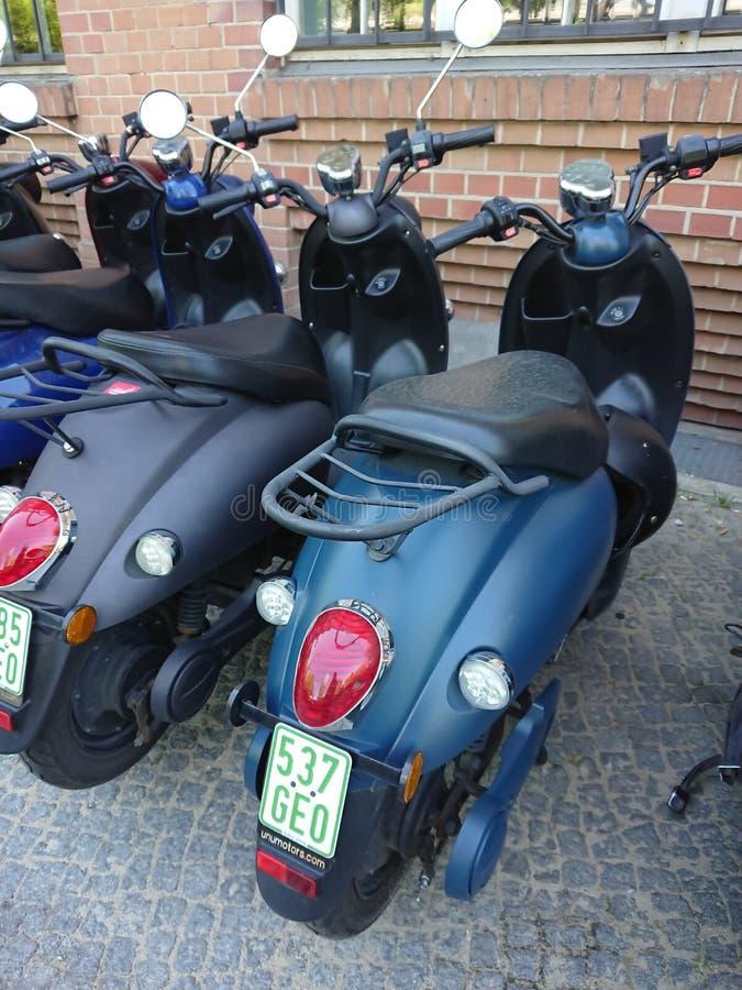 Scooteurs électriques d'UNU photos stock