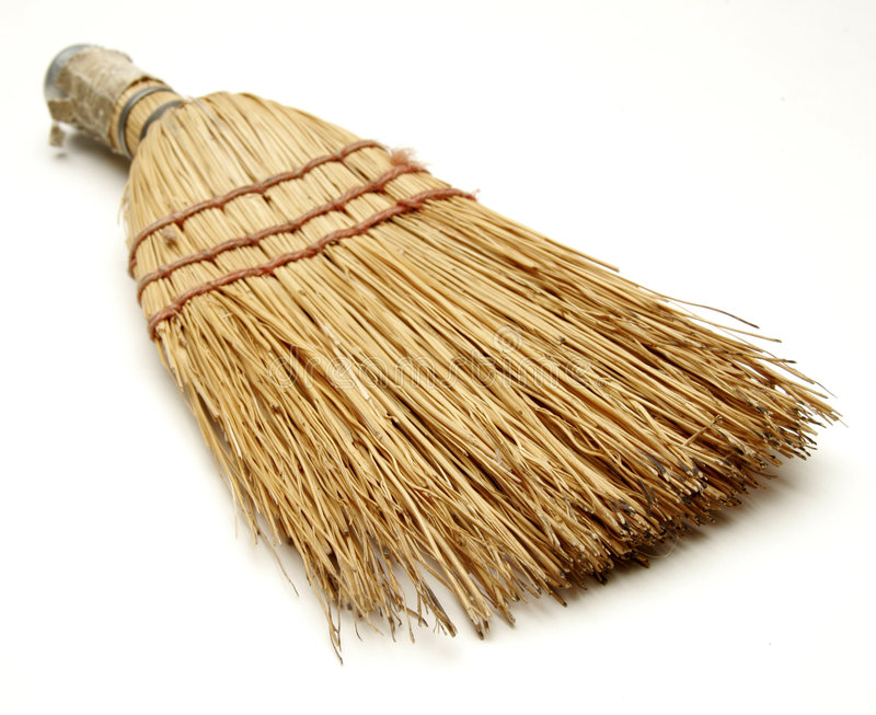 Download Scopa fotografia stock. Immagine di chores, polvere, pulito - 202686