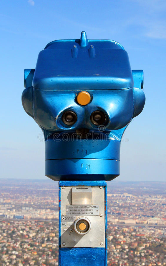 Download Scope On The Elisabeth Look-out Tower Stock Image - Image of view, hill: 24150717