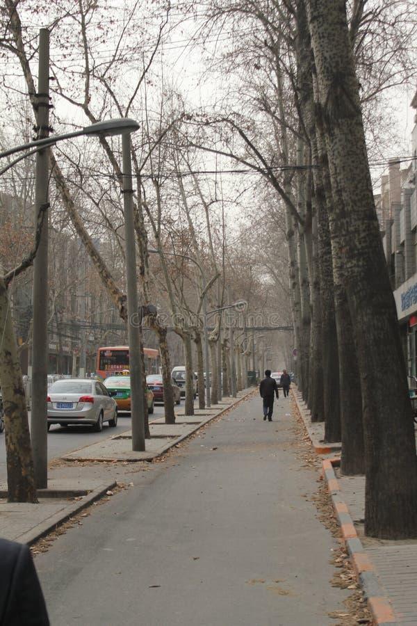 Scoperta della Cina: Xian Road fotografia stock