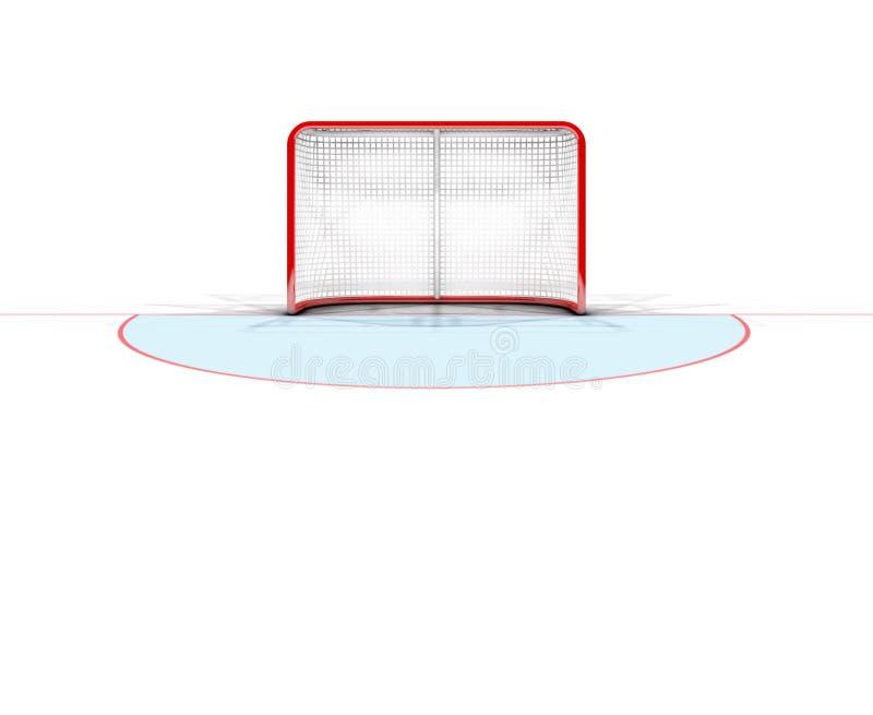 Scopi del hockey su ghiaccio illustrazione vettoriale