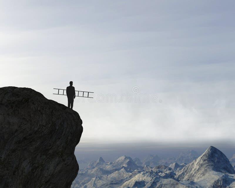 Scopi di affari, sfida, innovazione, idee fotografia stock