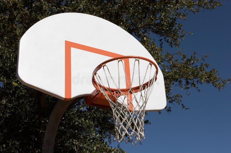 Scopo di pallacanestro fotografia stock