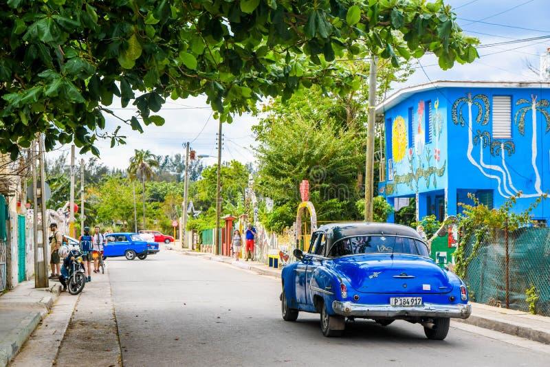 Scopra Fusterlandia in Havana Cuba immagine stock libera da diritti