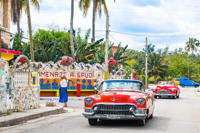 Scopra Fusterlandia in Havana Cuba fotografie stock