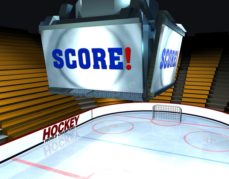 Score! stock afbeelding