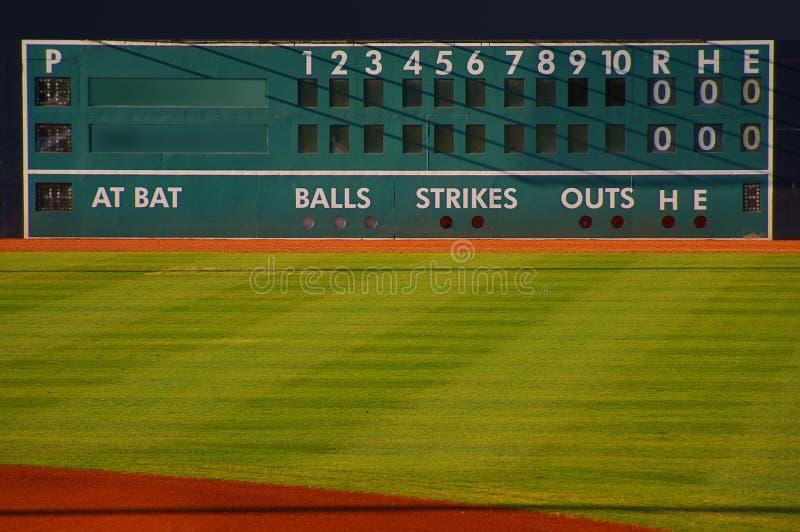 Download Score board stock image. Image of baseball, ballpark - 15031057