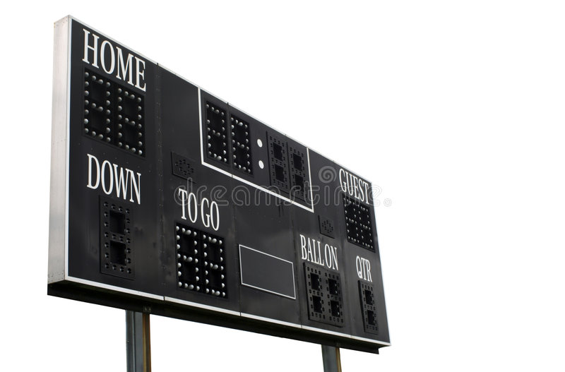 Download Score Board stock photo. Image of inning, point, arena - 911744