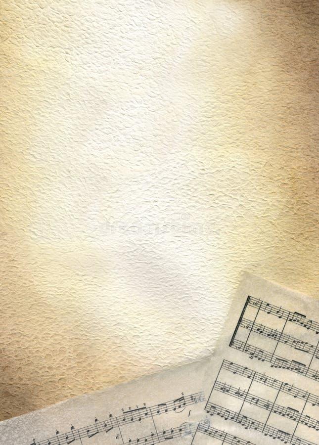 Score - brown watercolour stock photo