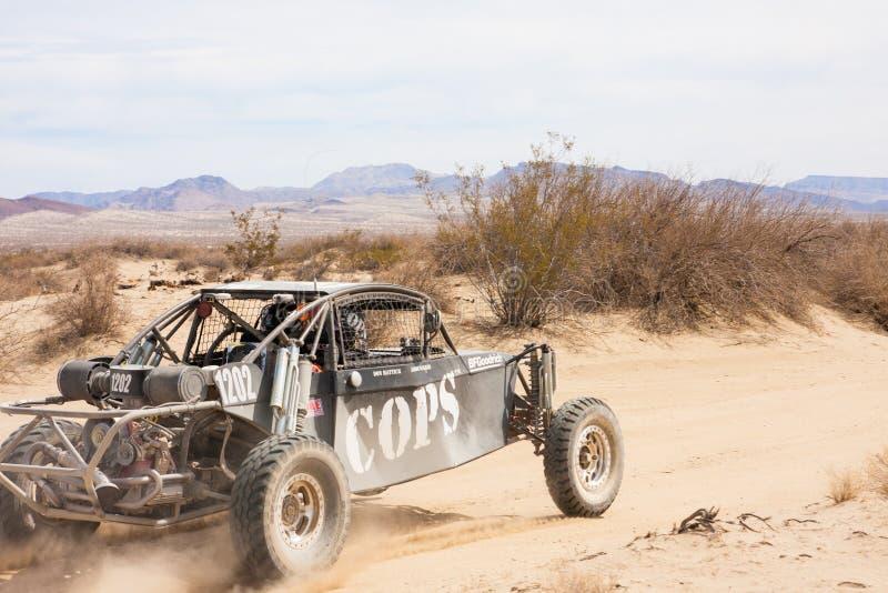 Score van de Vrachtwagenras van Weg4x4 Baja royalty-vrije stock foto