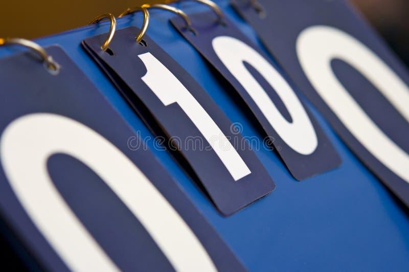 Scoreboard royalty free stock photos