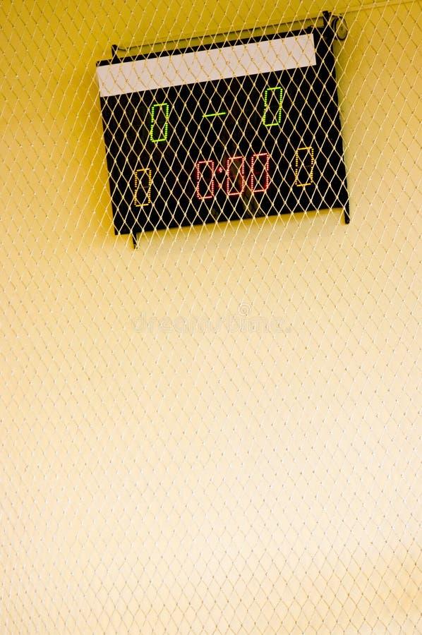 Scoreboard stock photography