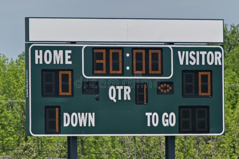 scoreboard στοκ εικόνες με δικαίωμα ελεύθερης χρήσης