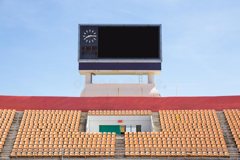 scoreboard image libre de droits