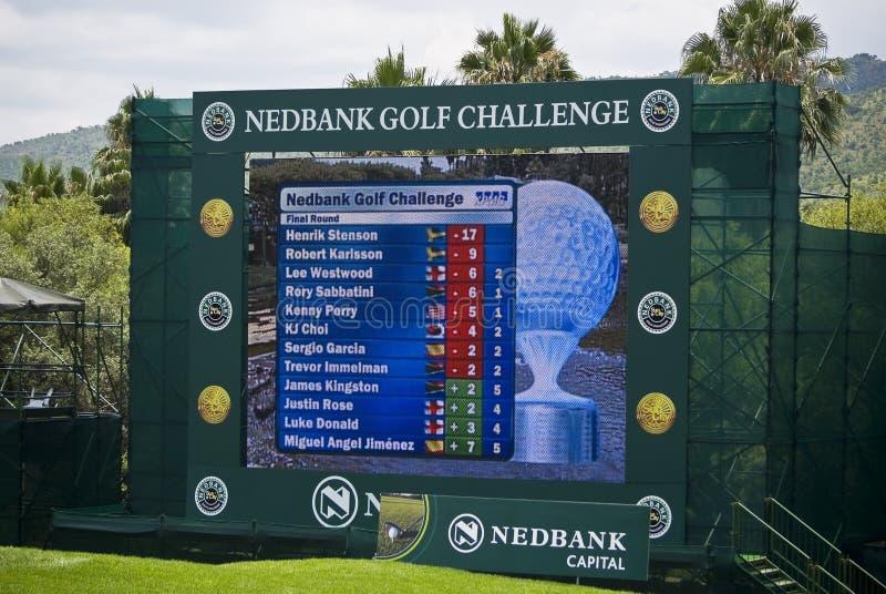 Download Scoreboard - Million Dollar Golf Editorial Image - Image: 7812490