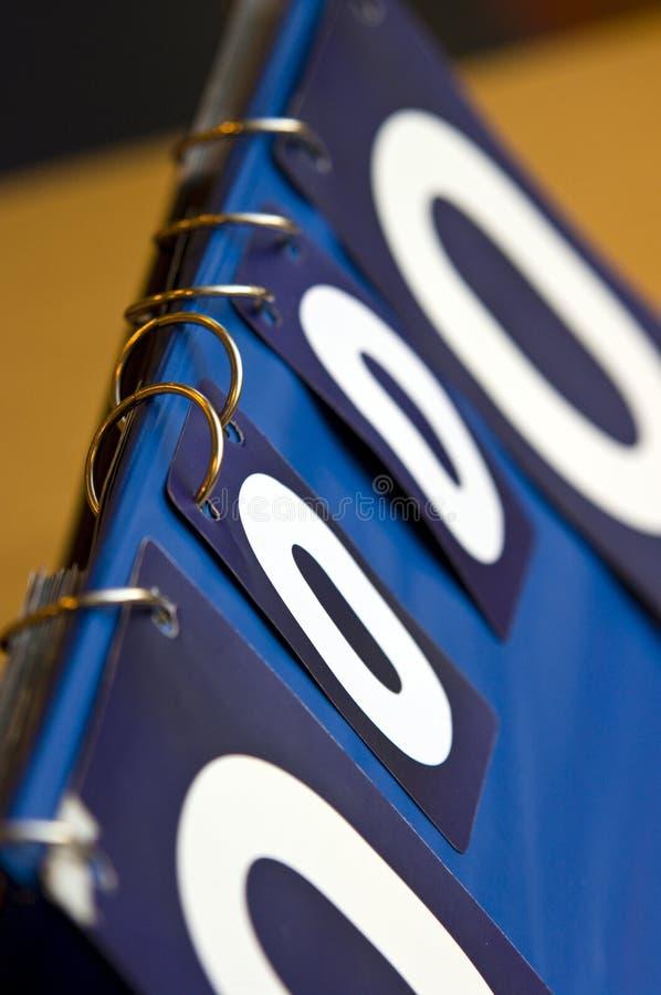 Scorebord stock afbeeldingen