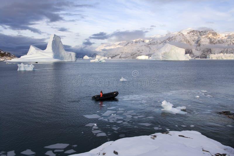Scoresbysund - Groenland royalty-vrije stock fotografie