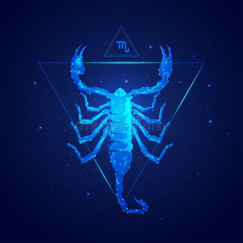 scorpio ilustracji