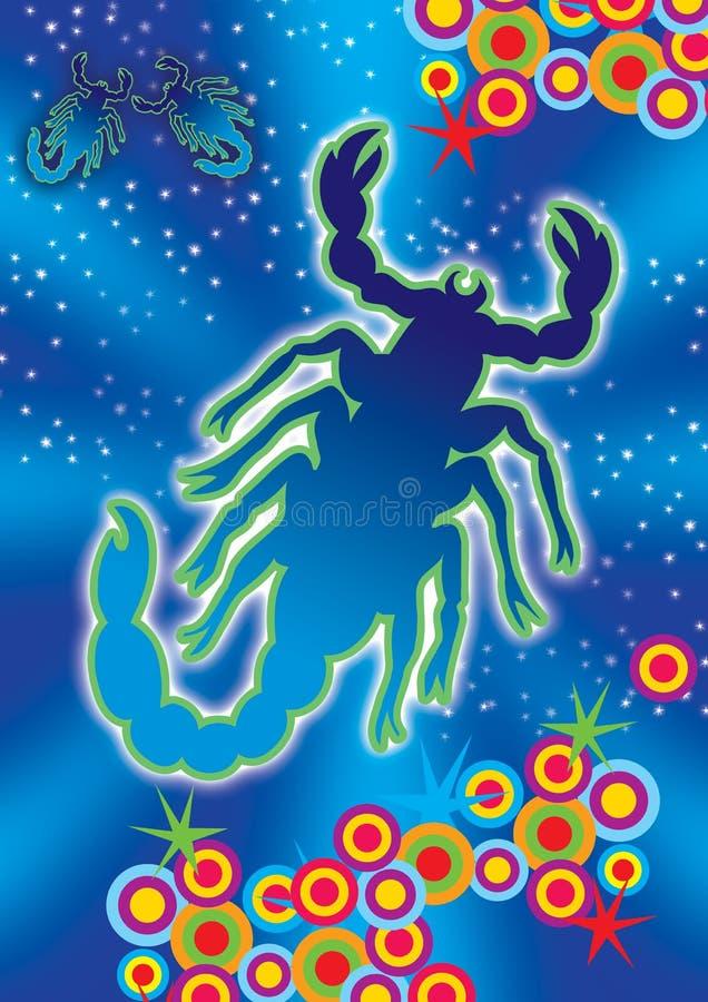 Download Scorpio stock illustration. Image of icon, astrology, calendar - 2310829