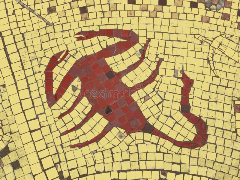 Download Scorpio иллюстрация штока. иллюстрации насчитывающей vintage - 81803155
