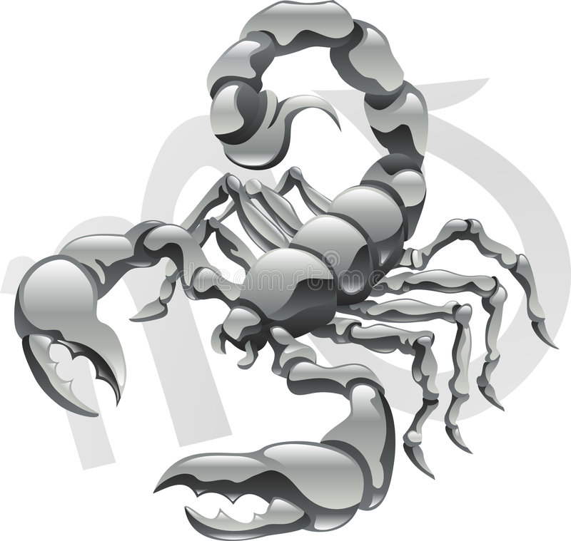 Free Scorpio The Scorpion Star Sign Royalty Free Stock Images - 9048929