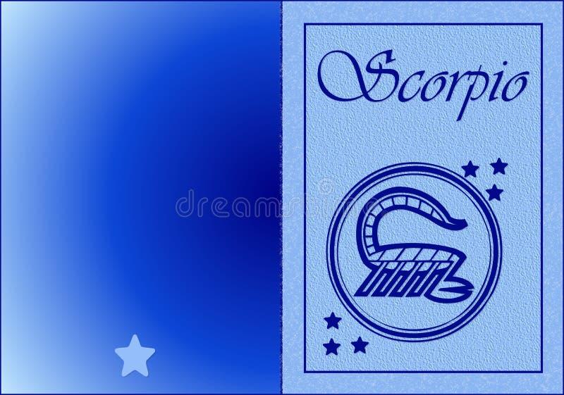 ScorpioCard stock photography