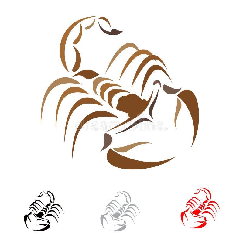 Download Scorpion stock vector. Image of design, illustration - 27958109