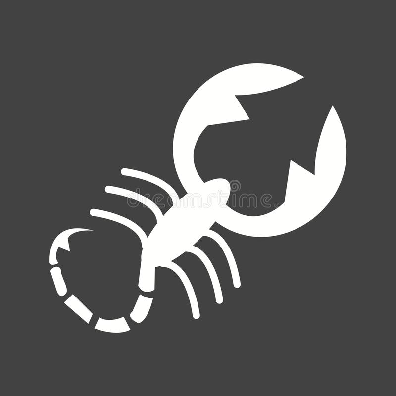 scorpion illustration libre de droits