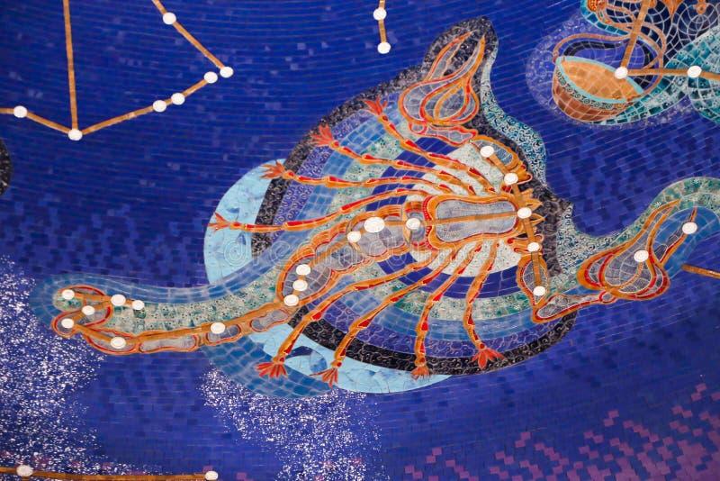 Scorpione - zodiaco immagine stock libera da diritti