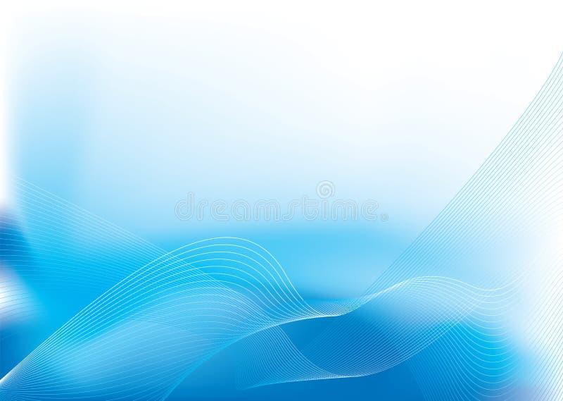 Scorrimento dell'acqua illustrazione vettoriale