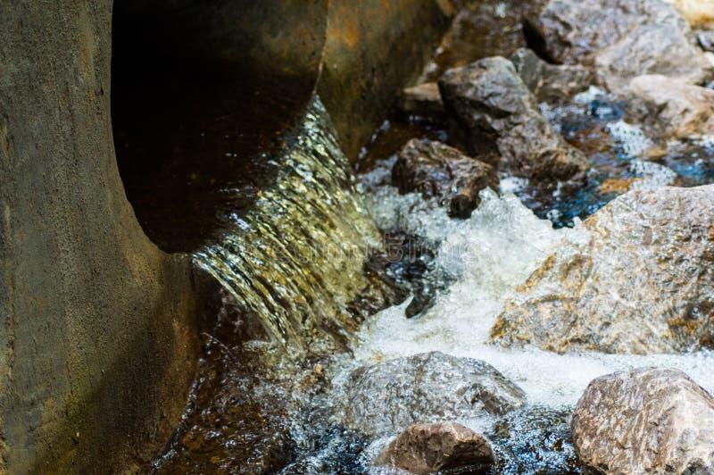 Scorrimento dell'acqua immagini stock libere da diritti