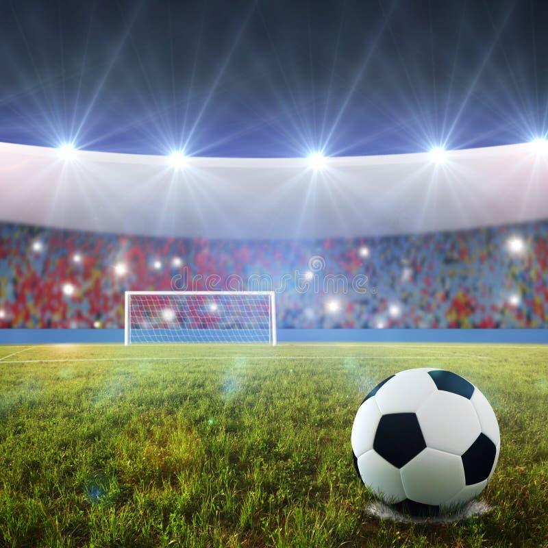Scossa di pena di calcio fotografie stock