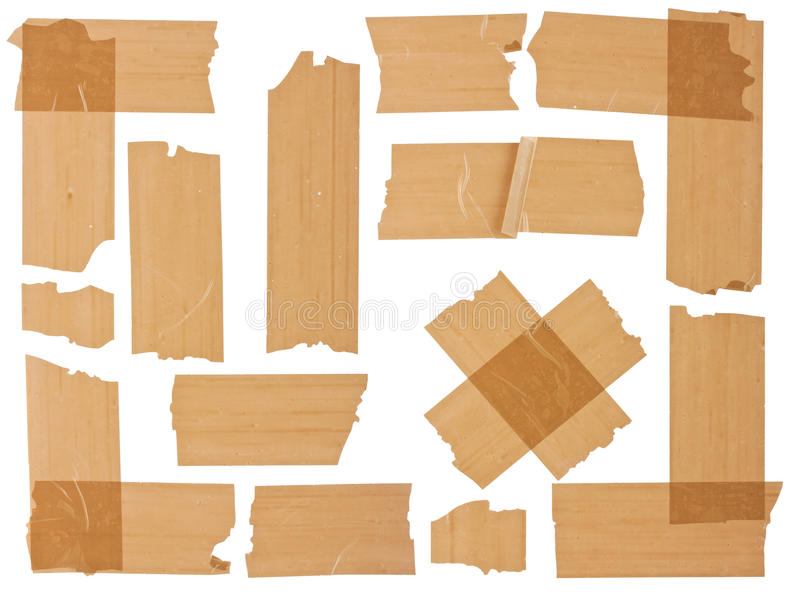 scotch bruna olika fragment arkivbilder