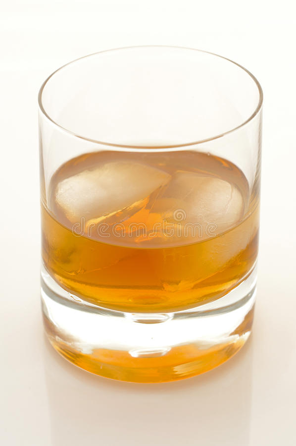 Download Scotch And Ice In A Glass Royalty Free Stock Image - Image: 23382516