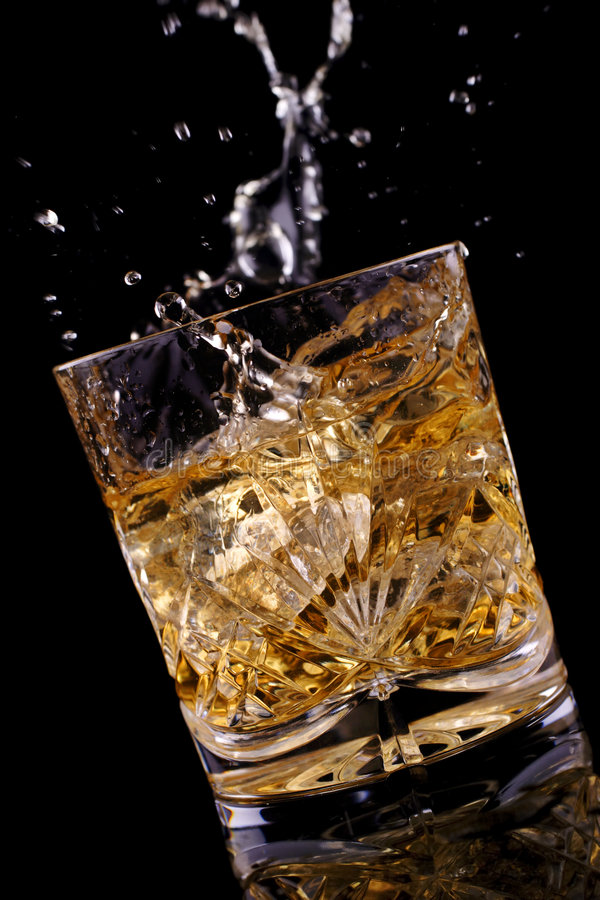 Free Scotch On The Rocks Stock Photo - 3861650