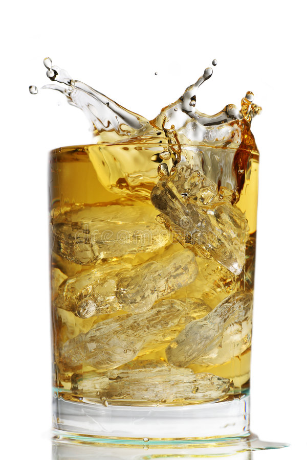 Free Scotch On The Rocks Stock Photo - 4274480