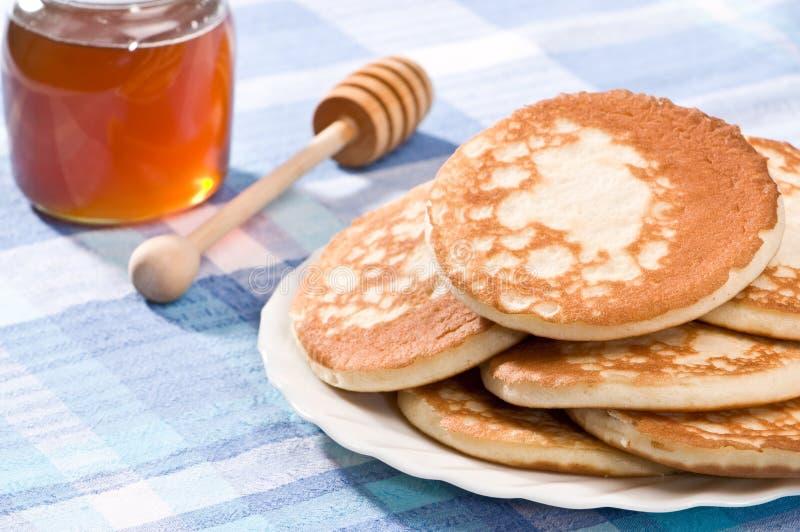 Scotch Pancakes royalty free stock photos