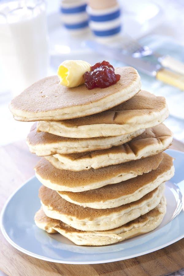 Scotch Pancakes royalty free stock photography